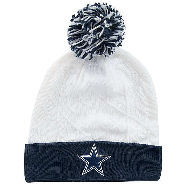 Dallas Cowboys New Era Snow Crown Knit Hat