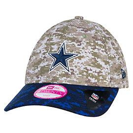 Dallas Cowboys New Era Salute To Service Womens 9Twenty Cap