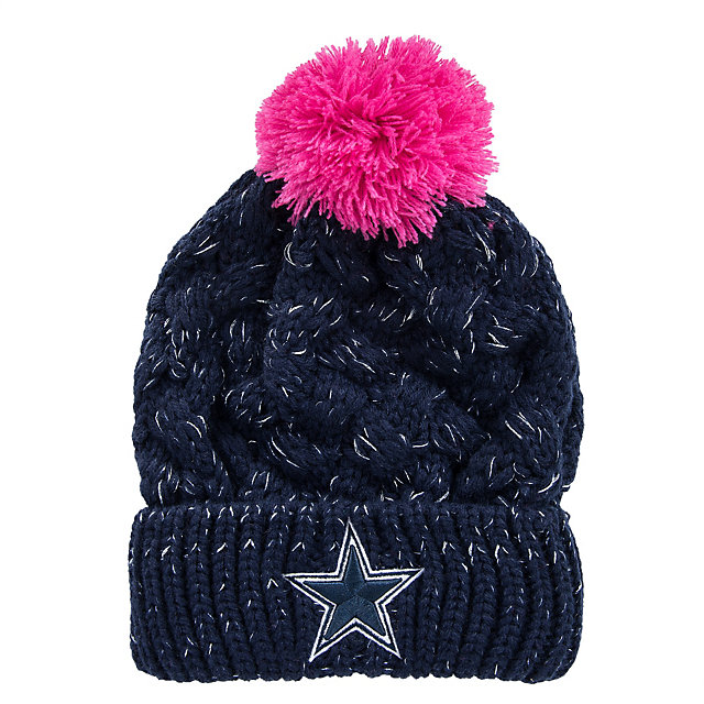 Dallas Cowboys Tulip Knit Hat