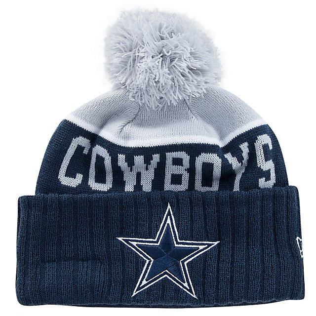 Dallas Cowboys New Era Jr Sport Knit Hat