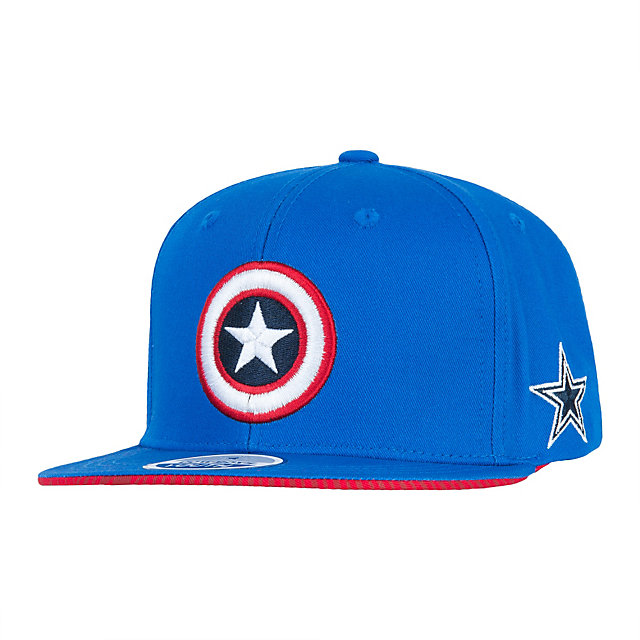 Dallas Cowboys MARVEL Youth Captain Shield Flat Brim