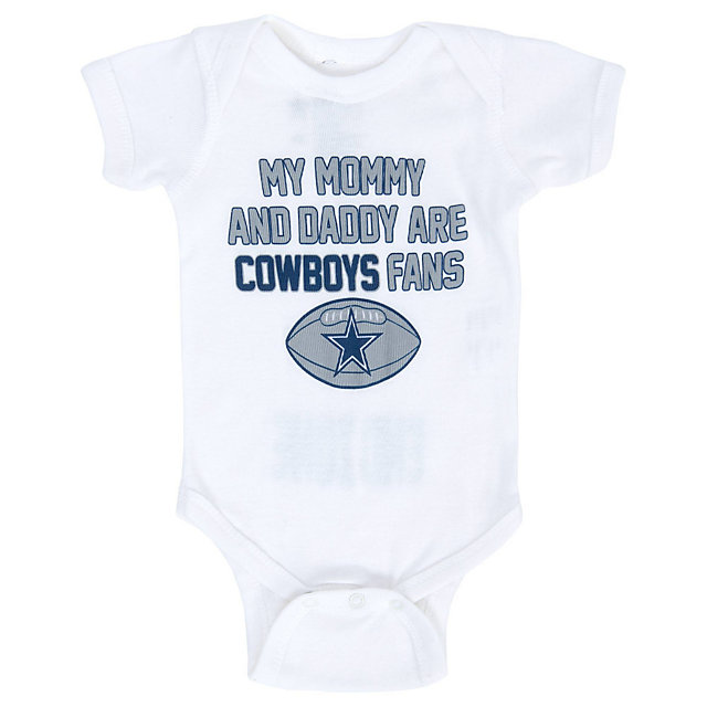 Dallas Cowboys Infant We Are Fans Bodysuit