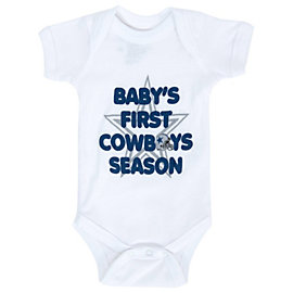 Dallas Cowboys Infant First Season Bodysuit