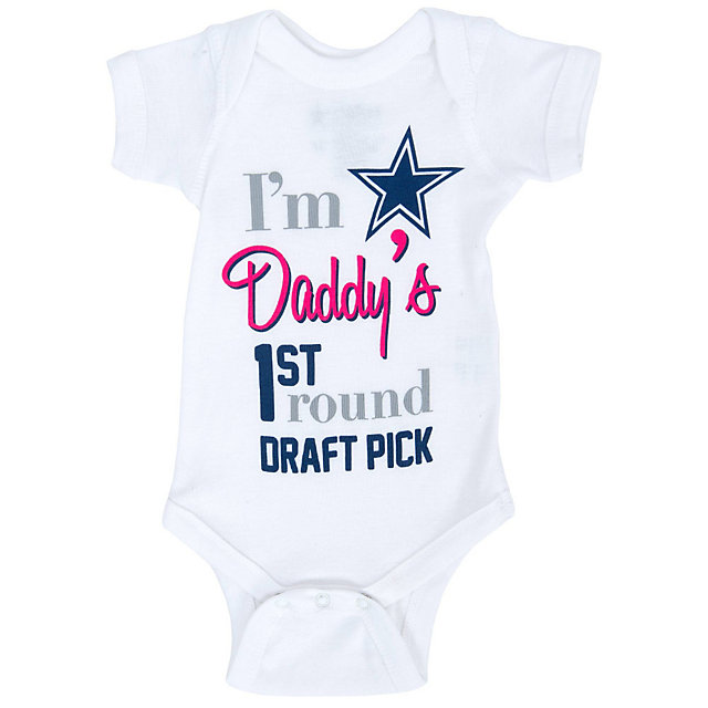 Dallas Cowboys Infant 1st Pick Bodysuit