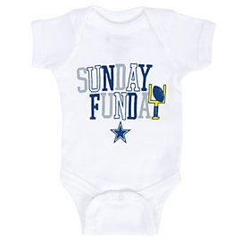 Dallas Cowboys Infant Sunday Funday Onesie
