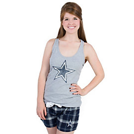 Dallas Cowboys Womens Alpha Boxer Set
