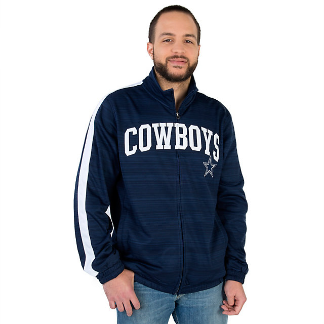 Dallas Cowboys Team Full Zip Track Jacket