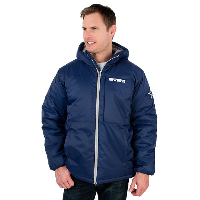 Dallas Cowboys Team Full-Zip Hooded Parka