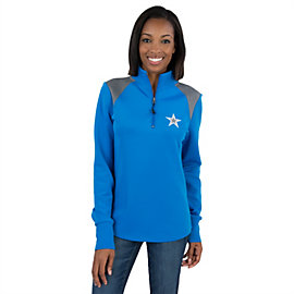 Dallas Cowboys Womens Keene Quarter Zip Jacket