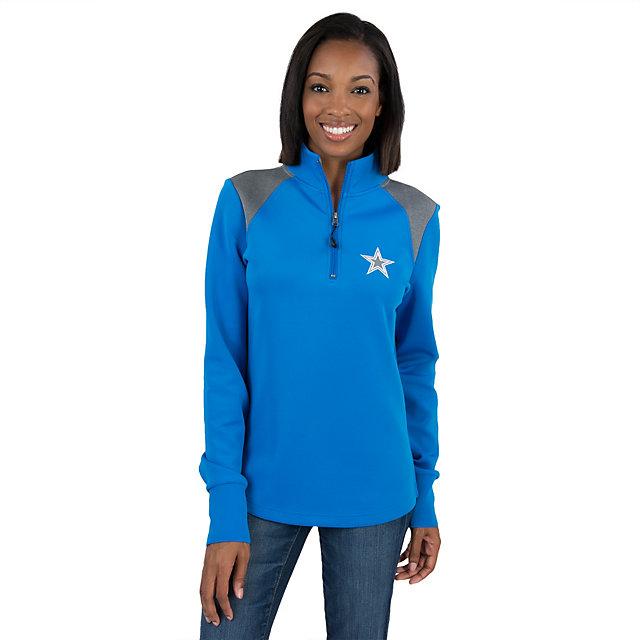 Dallas Cowboys Womens Keene Quarter Zip Jacket