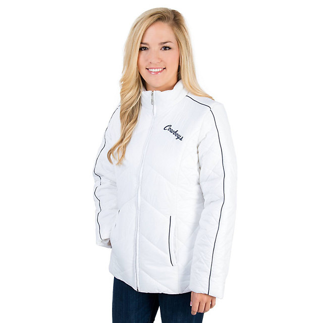 Dallas Cowboys Essential Quilted Jacket