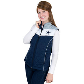 Dallas Cowboys Womens Chalktalk Vest