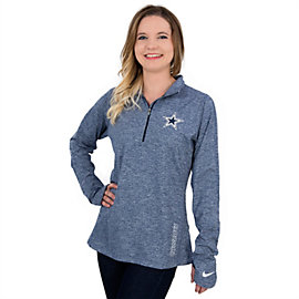 Dallas Cowboys Nike Championship Drive Stadium Element Half-Zip Jacket