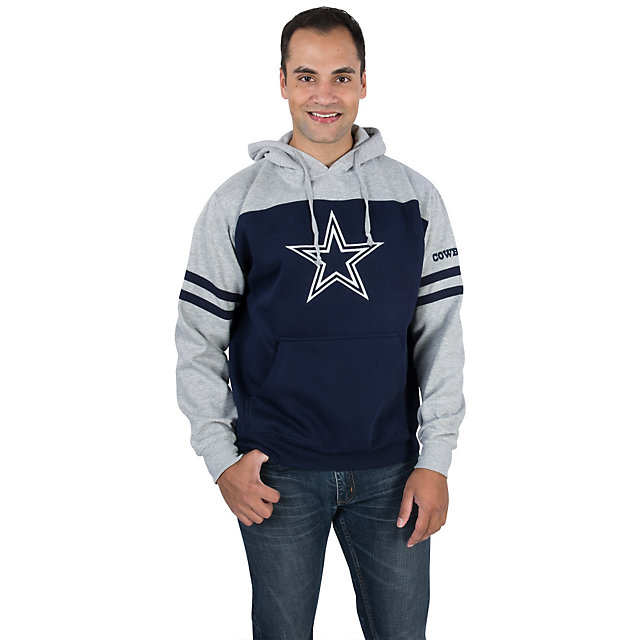 Dallas Cowboys Brooks Colorblock Fleece Hoody
