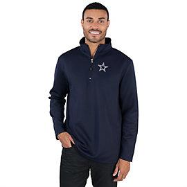 Dallas Cowboys Premier 1/4 Zip Fleece Top