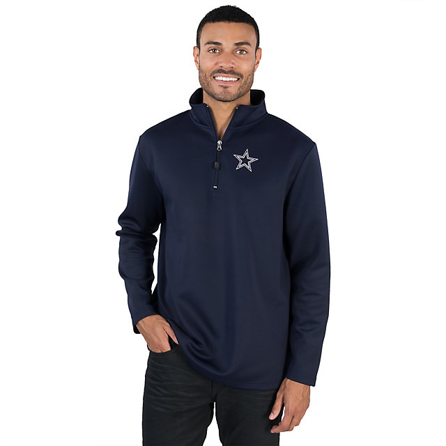 Dallas Cowboys Premier 1/4 Zip Fleece Top