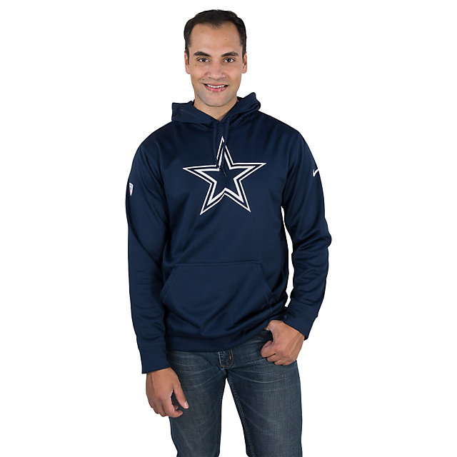 Dallas Cowboys Nike Practice Performance Pullover Hoody