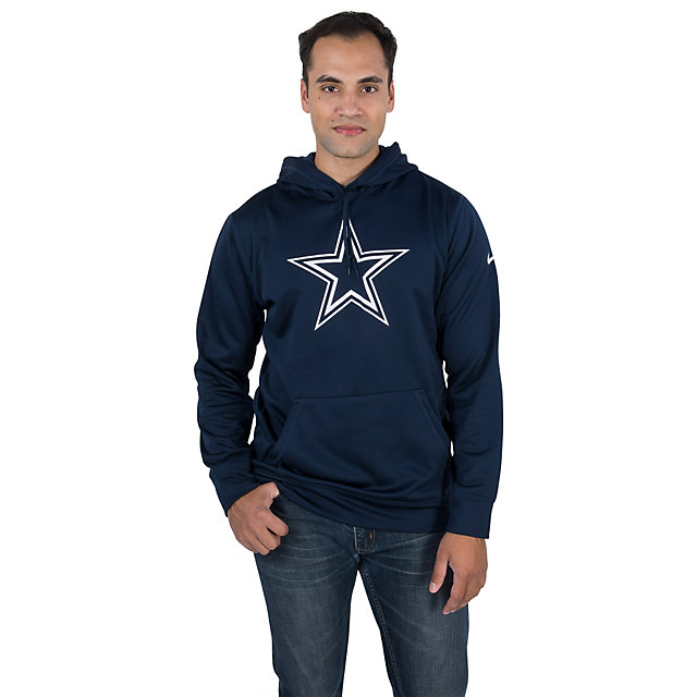 Dallas Cowboys Nike Performance Essential Logo Hoody