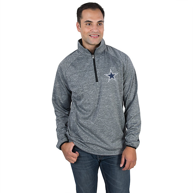 Dallas Cowboys Fleece Half Zip Pullover