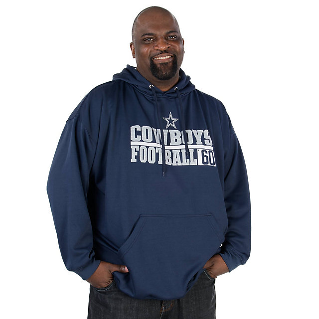 Dallas Cowboys Big and Tall Performance Fleece Hoody
