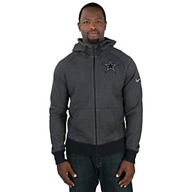 Dallas Cowboys Nike Gridiron Grey Full Zip Hoody
