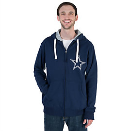 Dallas Cowboys Victory Sueded Full Zip Jacket