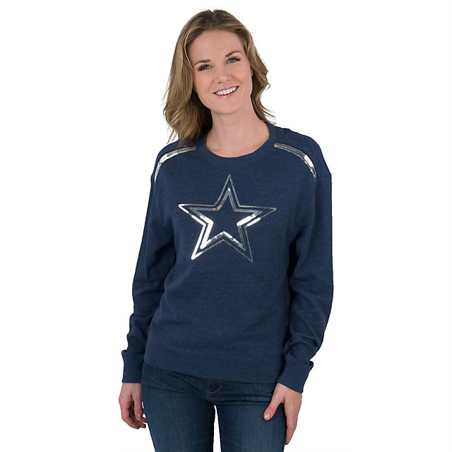 Dallas Cowboys Womens Needville Crew