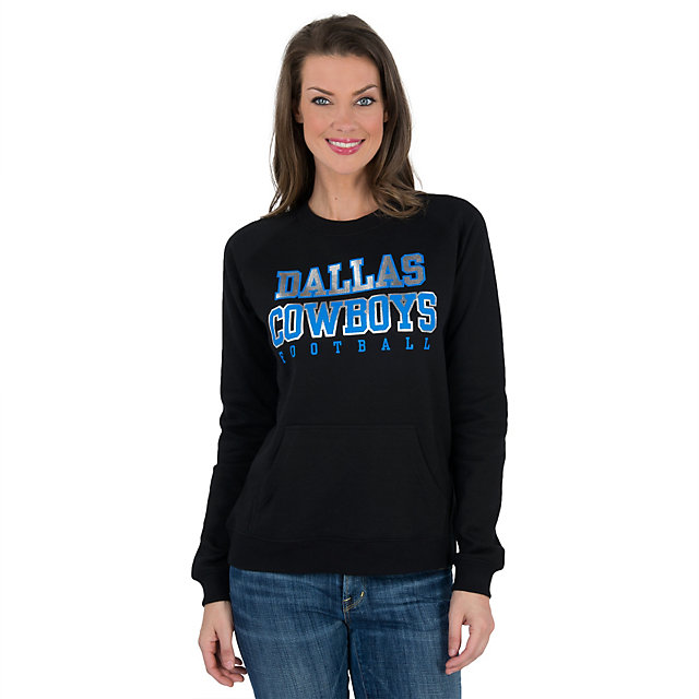 Dallas Cowboys Womens Magnetic Long Sleeve Tee