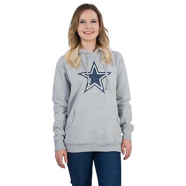 Dallas Cowboys Womens Logo Premier Too Hoody