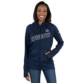 Dallas Cowboys Nike Womens Stadium Game Day KO Full-Zip Jacket