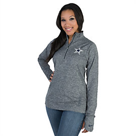 Dallas Cowboys Nike Stadium Element Half Zip Top