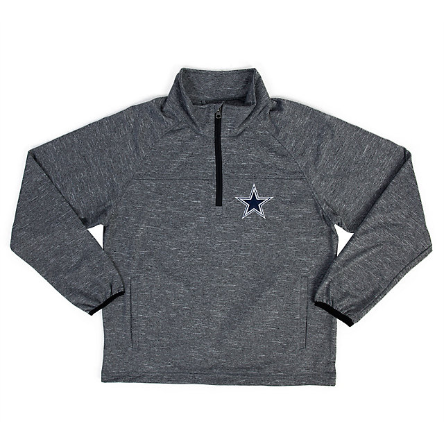 Dallas Cowboys Youth Fleece Half Zip Jacket