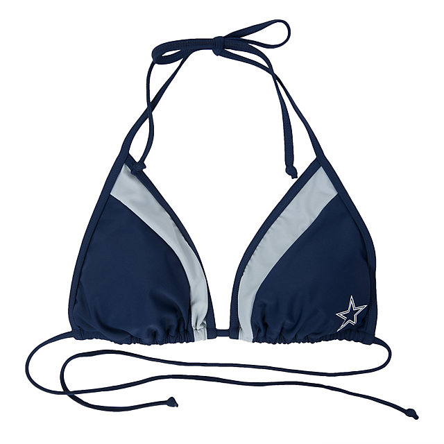 Dallas Cowboys Grand Slam Bikini Top