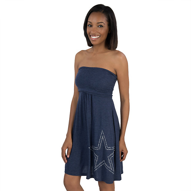 Dallas Cowboys Childress Womens Tube Dress