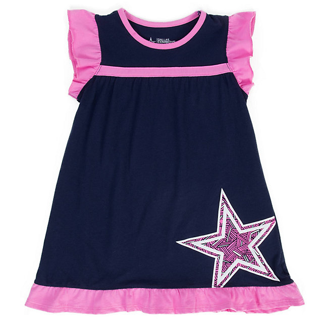 Dallas Cowboys Toddler Wylie Dress