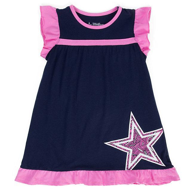 Dallas Cowboys Toddler Wylie Dress