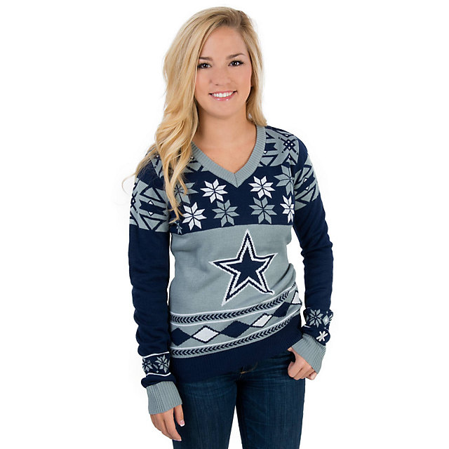 Dallas Cowboys Womens Ugly Sweater