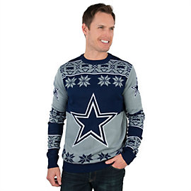 Dallas Cowboys Big Logo Ugly Crew Neck Sweater