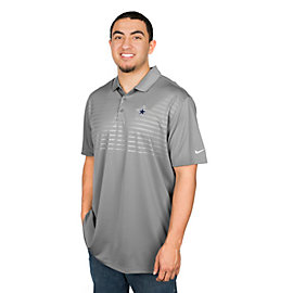 Dallas Cowboys Nike Golf Embossed Victory 2.0 Polo