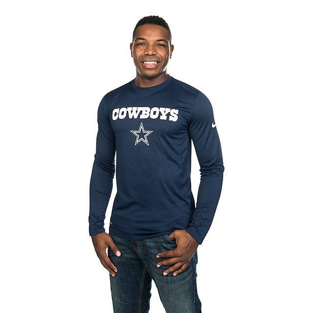 Dallas Cowboys Nike Essential Lockup Long Sleeve Tee