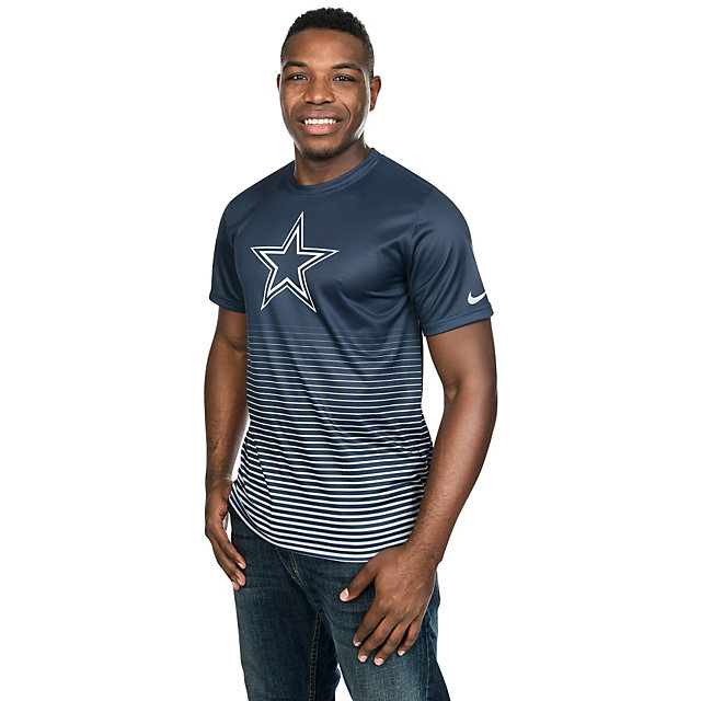 Dallas Cowboys Nike New Day Enhanced Performance Tee