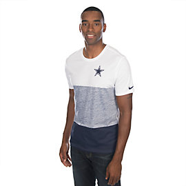 Dallas Cowboys Nike Push Press Triblend Tee
