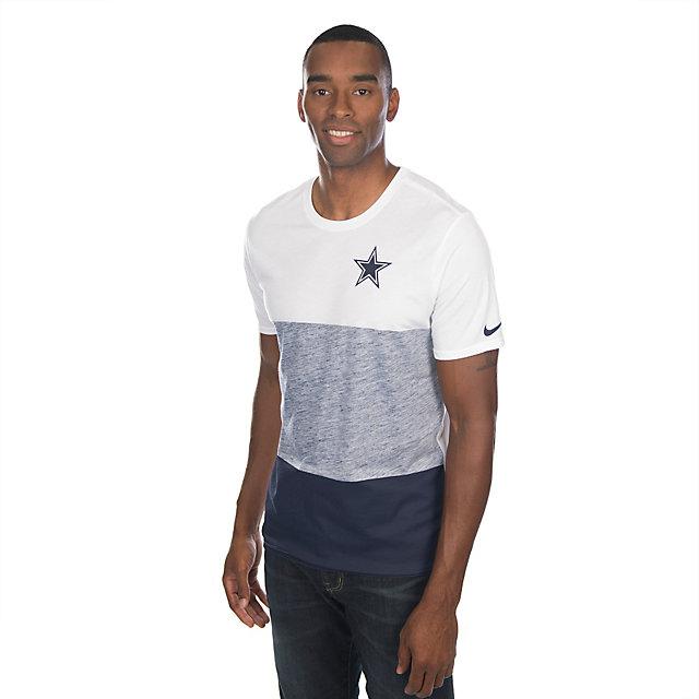 Dallas Cowboys Nike Push Press Triblend Tee Super Soft