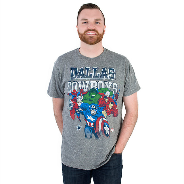 Dallas Cowboys MARVEL Heroic Team Tee