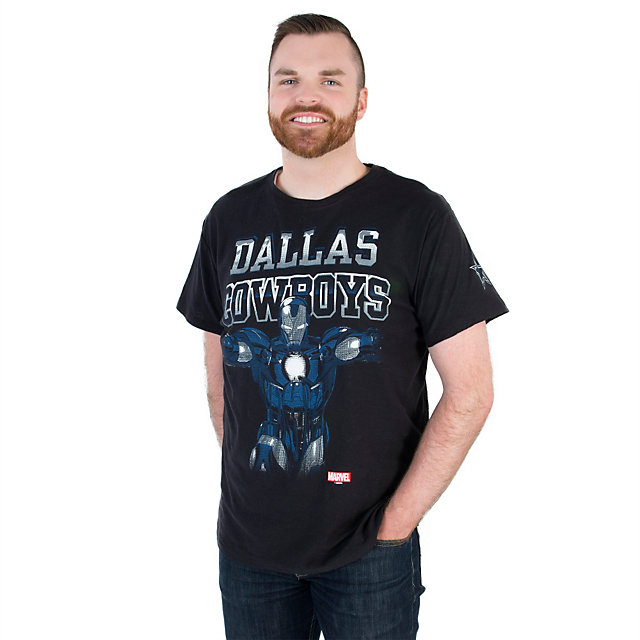 Dallas Cowboys MARVEL Iron Man Fearless Tee