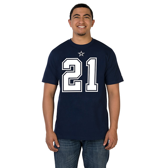 Youth Dallas Cowboys Nike Navy Blue Facility T-Shirt