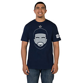 Dallas Cowboys Ezekiel Face Tee