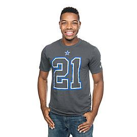 Dallas Cowboys Nike Ezekiel Elliott #21 Travel Name and Number Tee