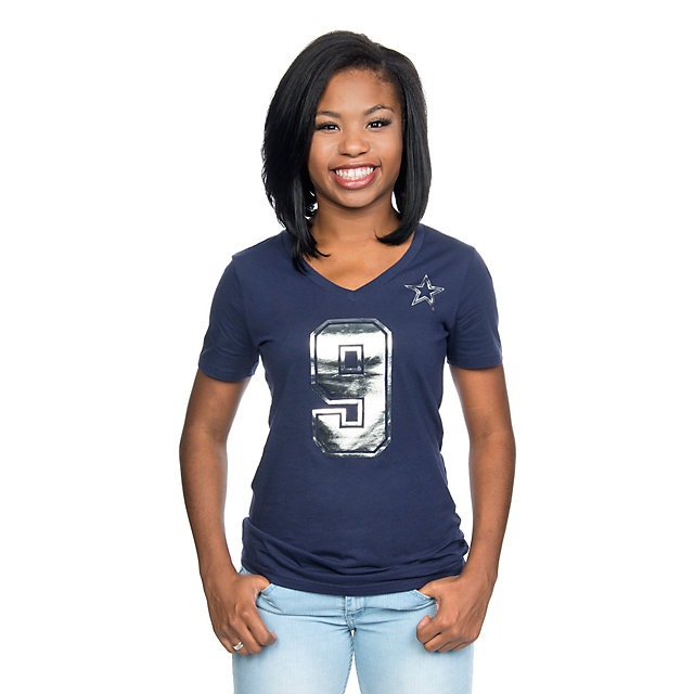 Dallas Cowboys Romo Shimmer Away Tee