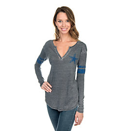 Dallas Cowboys McCarty Henley Top